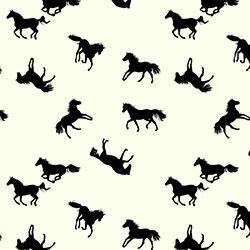 Trikå häst