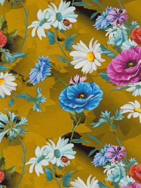 Jersey Blomster Digitalprint